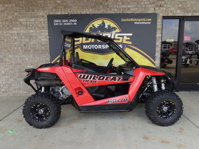 2014 Arctic Cat Wildcat Trail