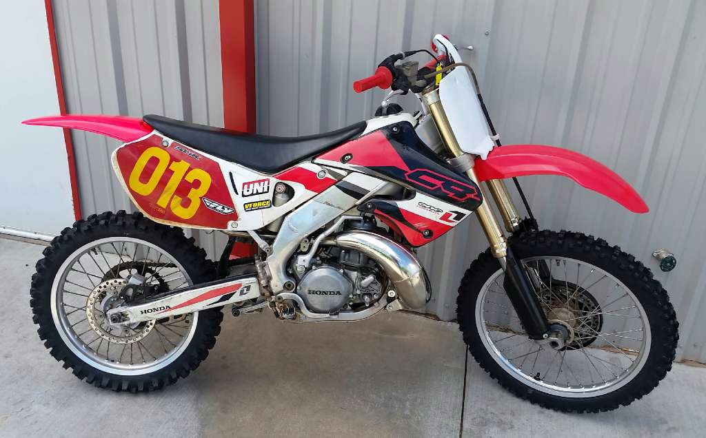 1982 Husqvarna CR 250 Side Panel Airbox Cover Decal