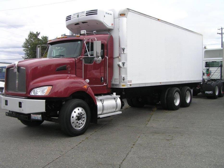 2010 Kenworth T400 Refrigerated Truck