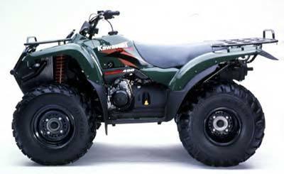 2001 Kawasaki Prairie 400 2X4