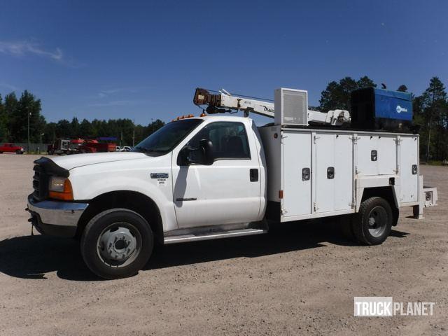 2000 Ford F-550 Xl Super Duty  Utility Truck - Service Truck