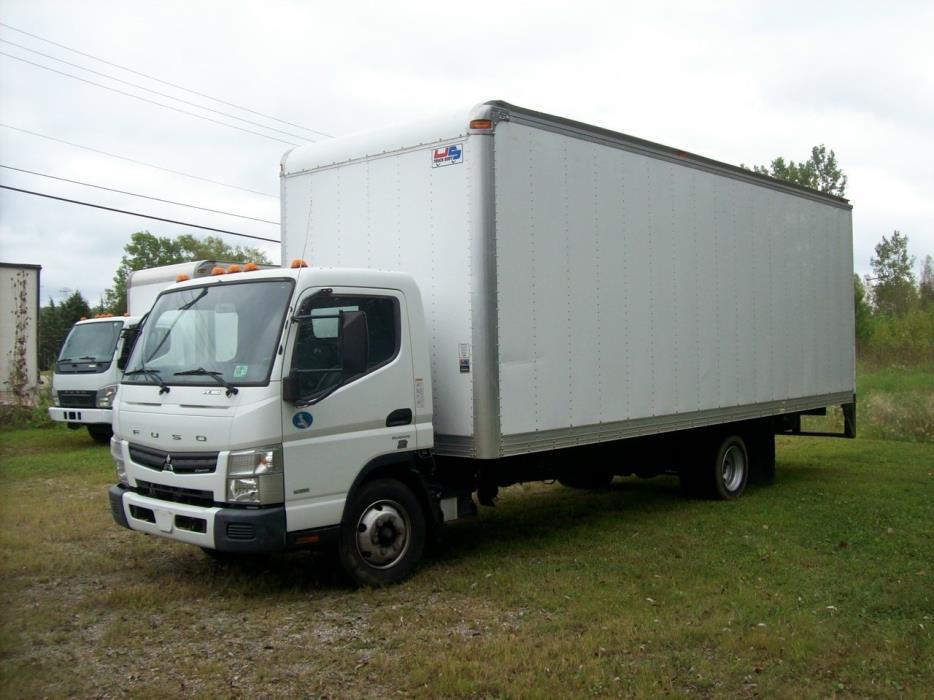 2012 Mitsubishi Fuso Fe180 Box Truck - Straight Truck