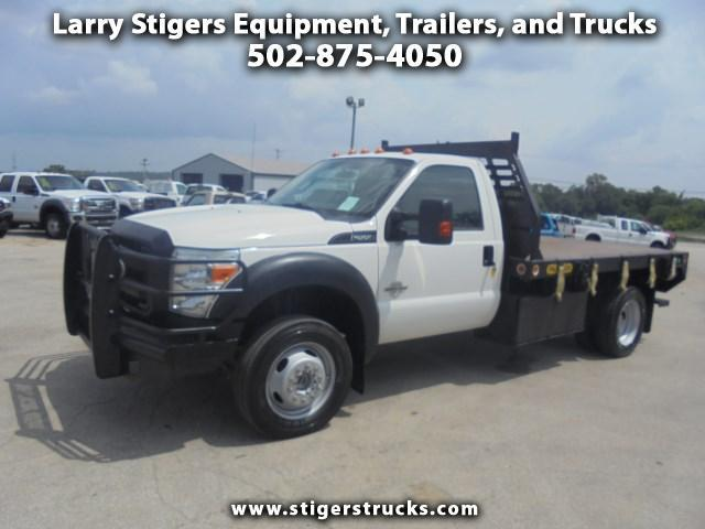 2012 Ford F-550  Flatbed Truck