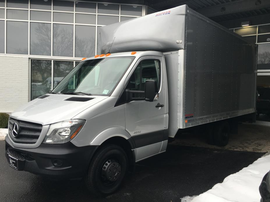 2016 Mercedes-Benz Sprinter 3500 Box Truck - Straight Truck