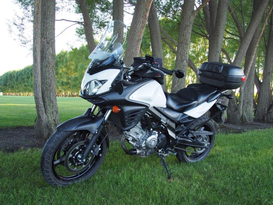 suzuki v strom 650 abs motorcycles for sale in iowa. Black Bedroom Furniture Sets. Home Design Ideas