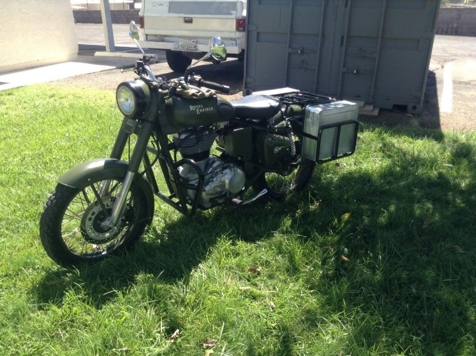 2012 Royal Enfield MILITARY