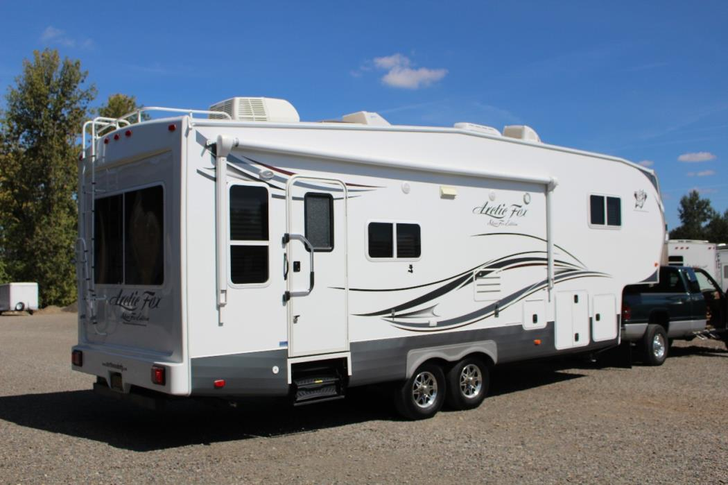 Arctic Fox Travel Trailers For Sale Oregon