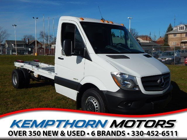 2016 Mercedes-Benz Sprinter 3500 Cab Chassis