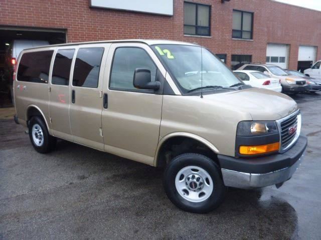 2012 Gmc Savana Passenger Passenger Van