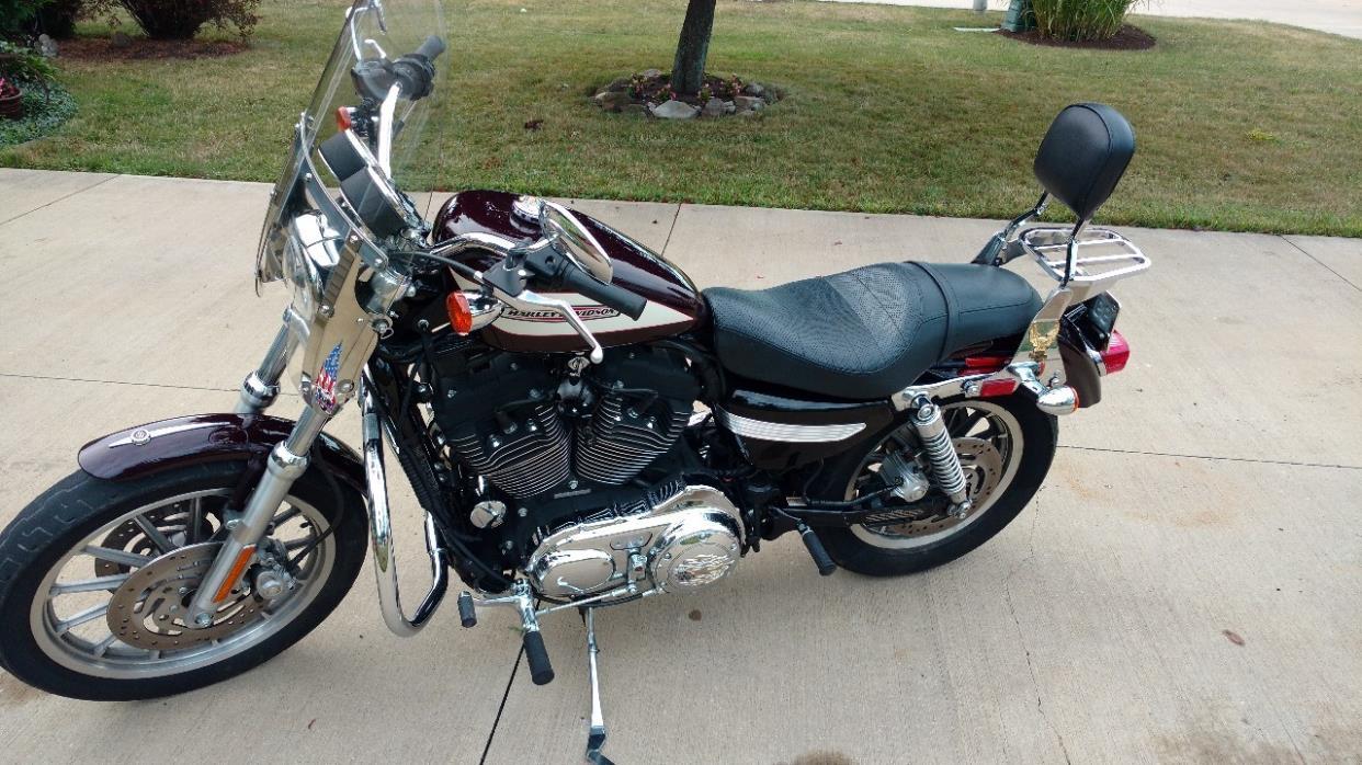 2000 Harley Davidson XL 883C Sportster Custom
