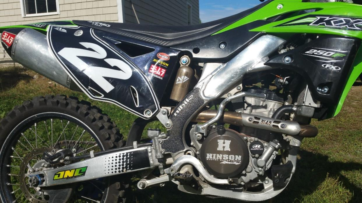 kawasaki kx 250f motorcycles for sale in maine. Black Bedroom Furniture Sets. Home Design Ideas