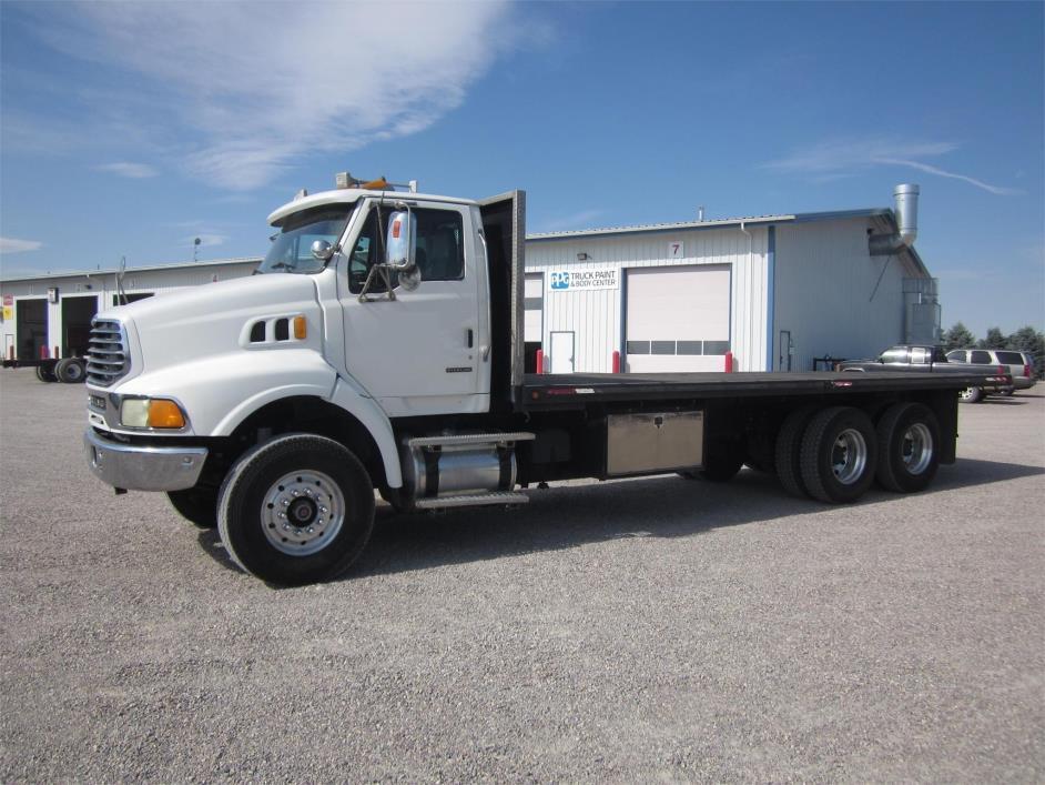 2006 Sterling At9513 Flatbed Truck