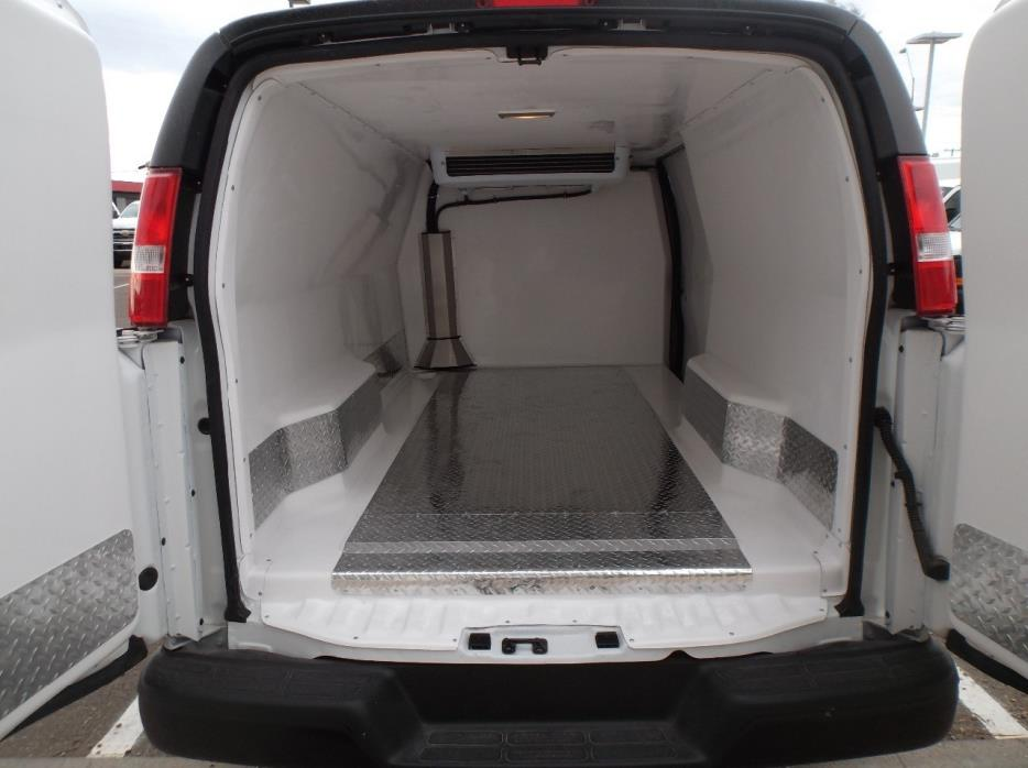 2016 Chevrolet Express 3500 Refrigerated Truck