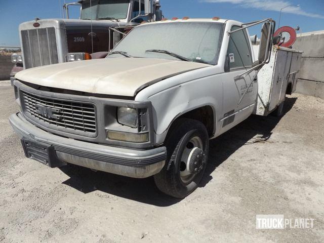 1997 Gmc Sierra C3500 Sl Utility Truck - Service Truck