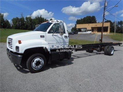 2002 Gmc C6000 Cab Chassis