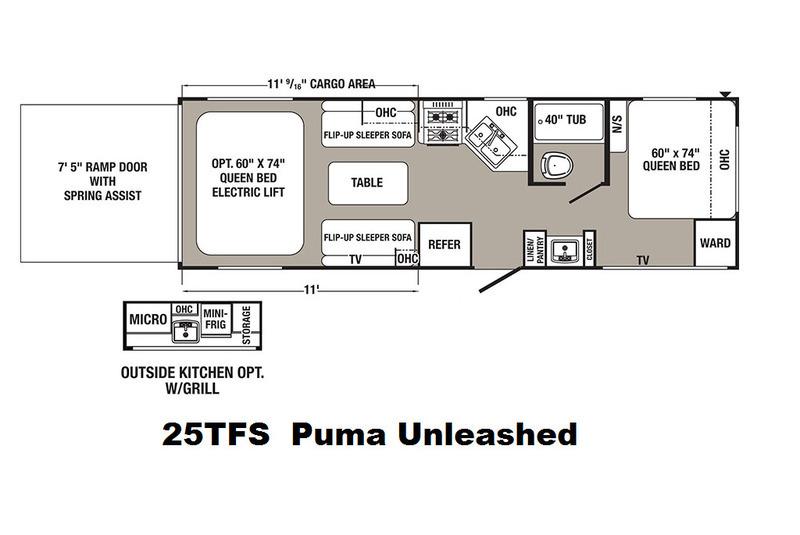 2017 Palomino Puma Unleashed 25TFS