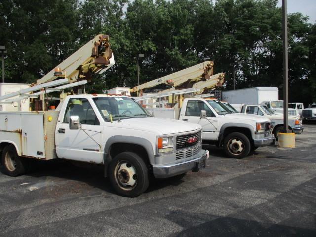 2001 Gmc Sierra 3500  Bucket Truck - Boom Truck
