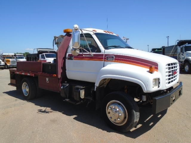 2000 Gmc Topkick C6500 Flatbed Truck