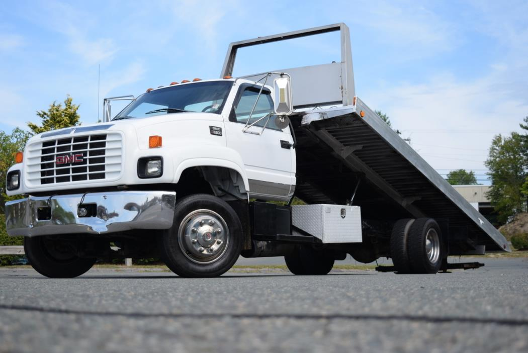 1998 Gmc C6000 Rollback Tow Truck