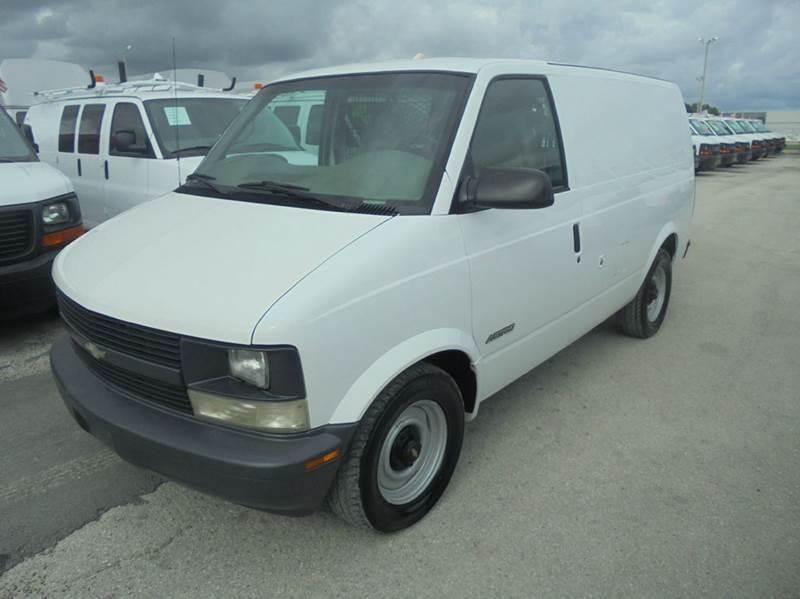 2000 Chevrolet Astro Cargo  Cargo Van