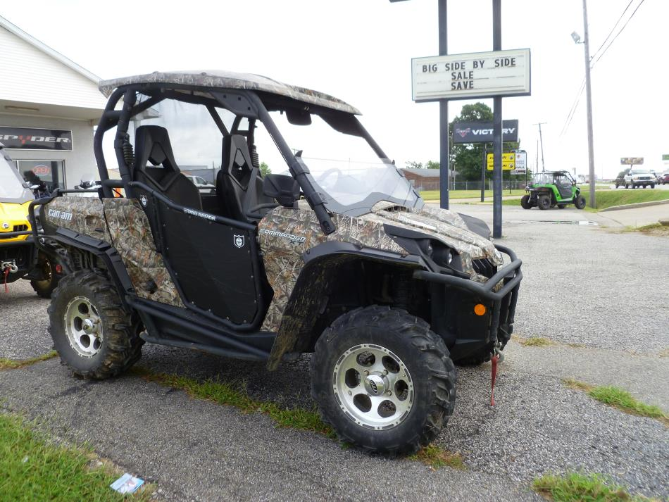 can am commander 1000 xt camo motorcycles for sale in indiana. Black Bedroom Furniture Sets. Home Design Ideas