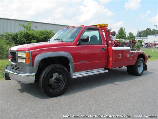 2000 Gmc Sierra 3500  Wrecker Tow Truck