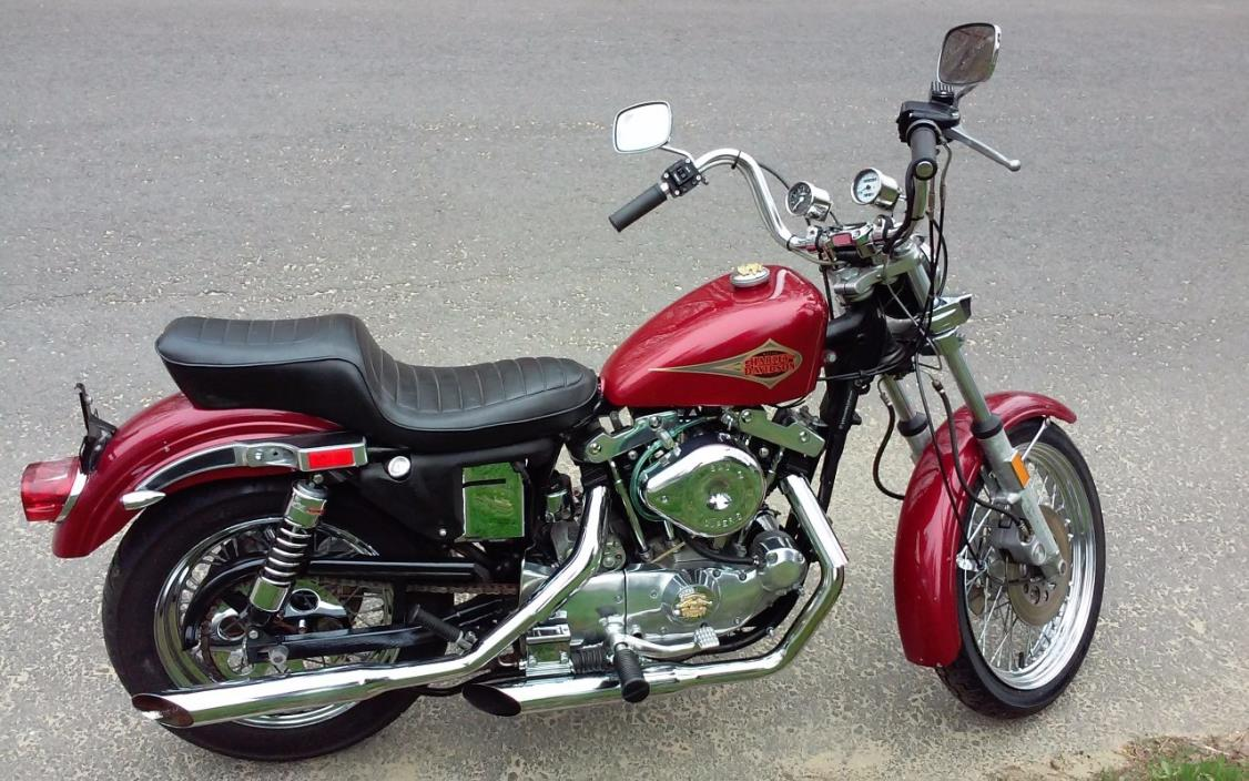 1981 ironhead sportster motorcycles for sale. Black Bedroom Furniture Sets. Home Design Ideas
