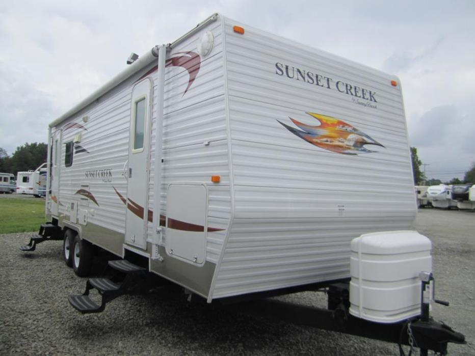 2010 Sunnybrook Sunset Creek 267RL
