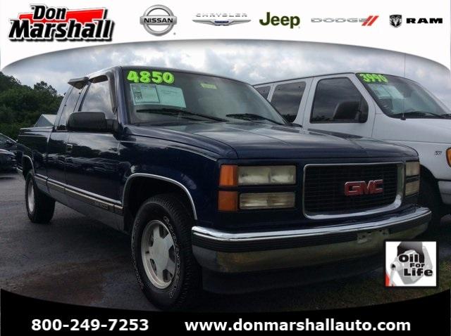 1996 Gmc Sierra 1500  Pickup Truck