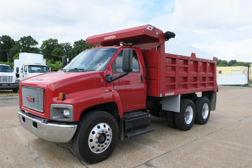 2007 Gmc Topkick C8500 Dump Truck