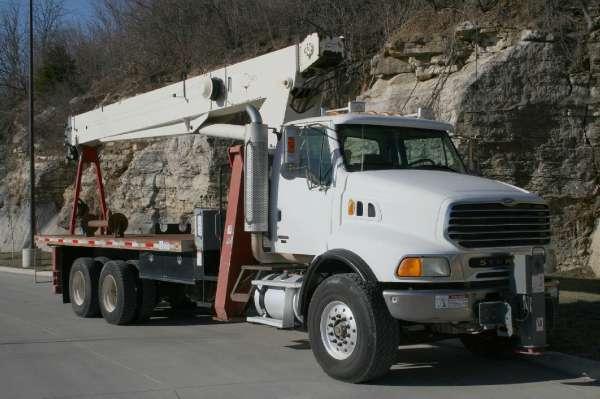 2006 Terex Bt4792  Crane Truck
