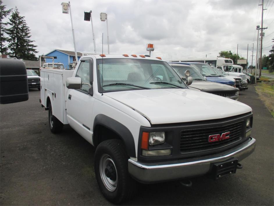 2000 Gmc Sierra 3500  Utility Truck - Service Truck