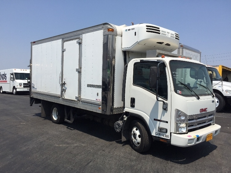 2008 Gmc W4500  Refrigerated Truck