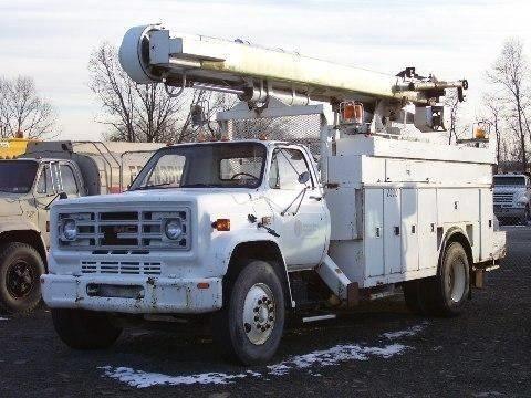 1985 Gmc 7000 Bucket Truck - Boom Truck
