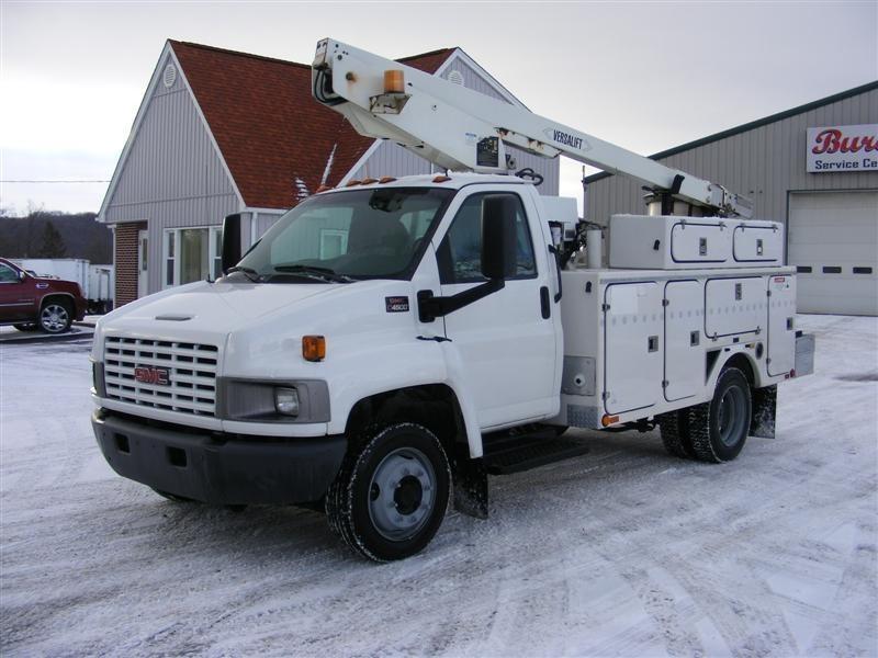 2003 Gmc Topkick C4500 Bucket Truck - Boom Truck