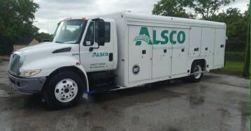 2002 International 4300 Beverage Truck