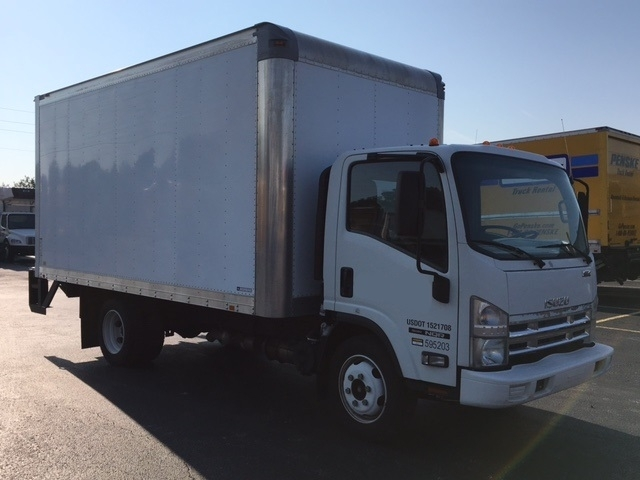 2010 Isuzu Nqr  Box Truck - Straight Truck