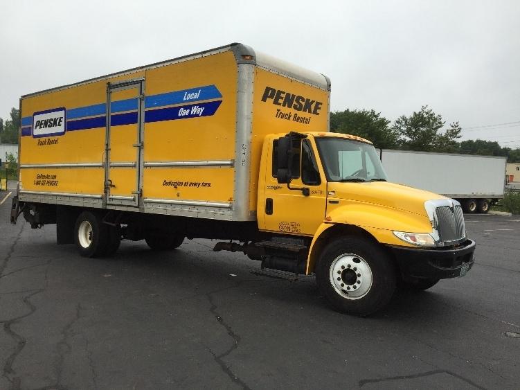 2012 International Durastar 4300  Box Truck - Straight Truck