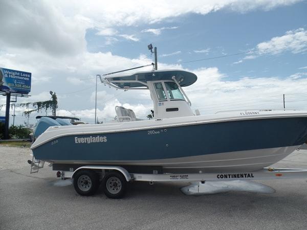 2007 Everglades 260 CC