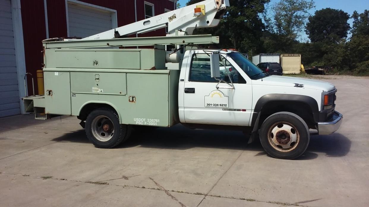 1994 Gmc Sierra 3500 Hd  Bucket Truck - Boom Truck