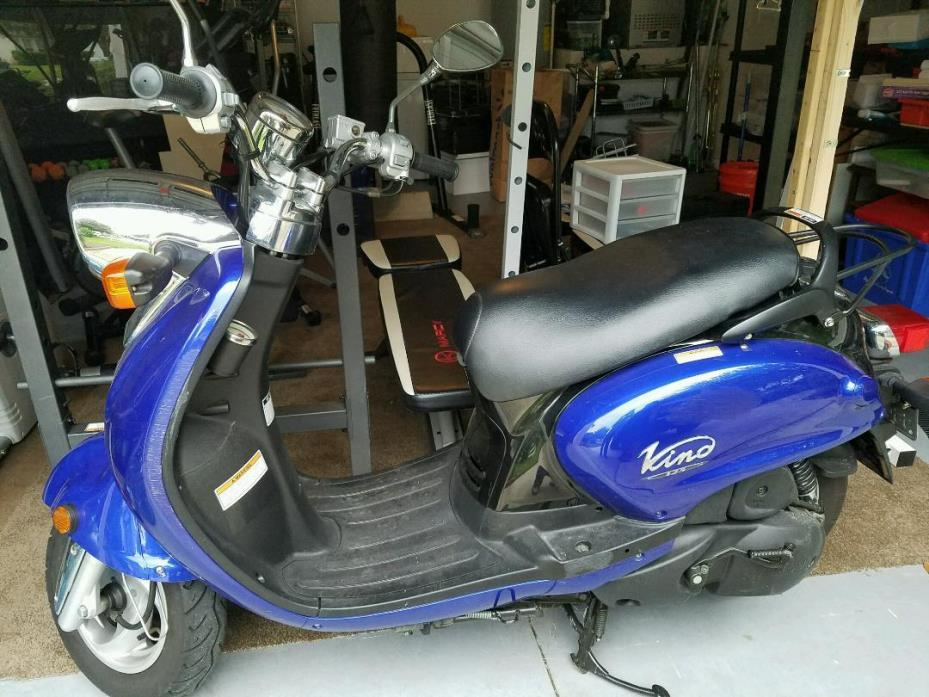 2007 yamaha vino 125 motorcycles for sale. Black Bedroom Furniture Sets. Home Design Ideas