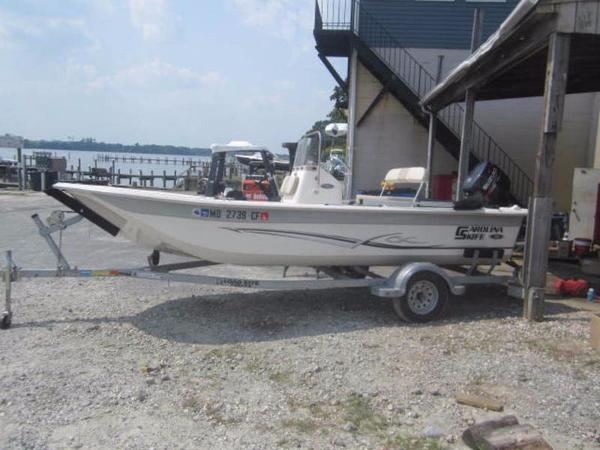 2013 Carolina Skiff 18CC JVX Series
