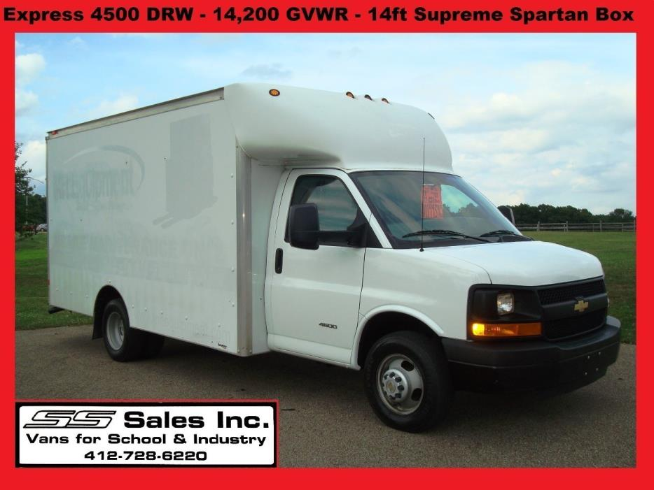 2013 Chevrolet C4500 Moving Van