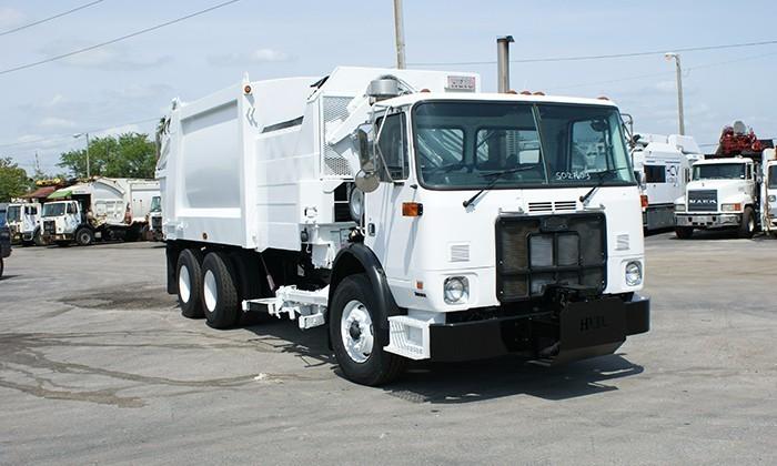 2007 Autocar Acx64 Garbage Truck