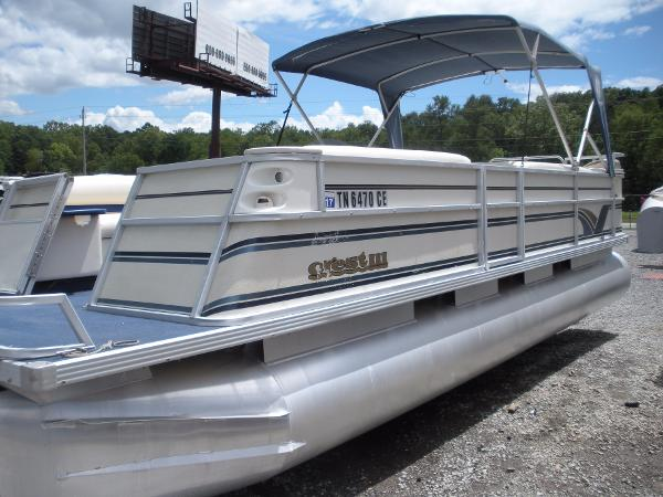 Crest Pontoon Boats Pontoon Crest Iii 25 Boats for sale