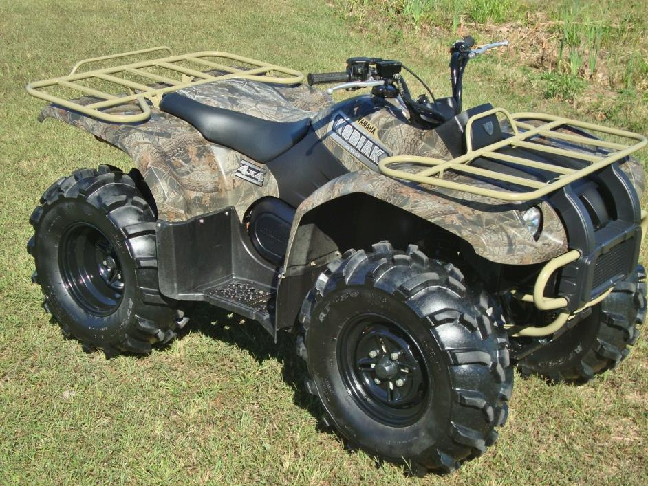 yamaha kodiak 450 4wd camo motorcycles for sale