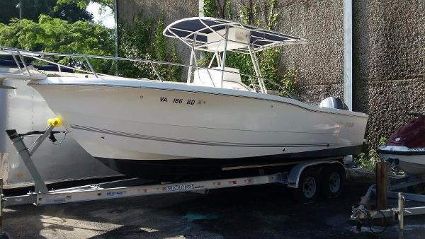 2003 Sea Pro 235 CC