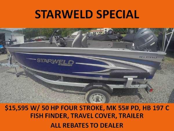 2016 Starweld 16 Pro SC