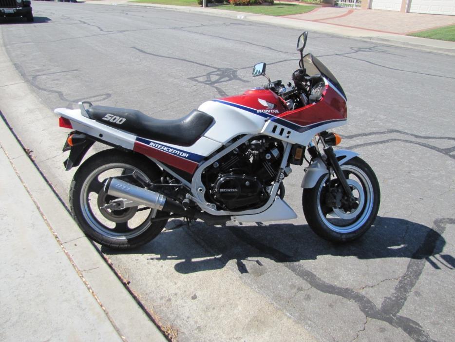 1985 honda 700 interceptor motorcycles for sale. Black Bedroom Furniture Sets. Home Design Ideas