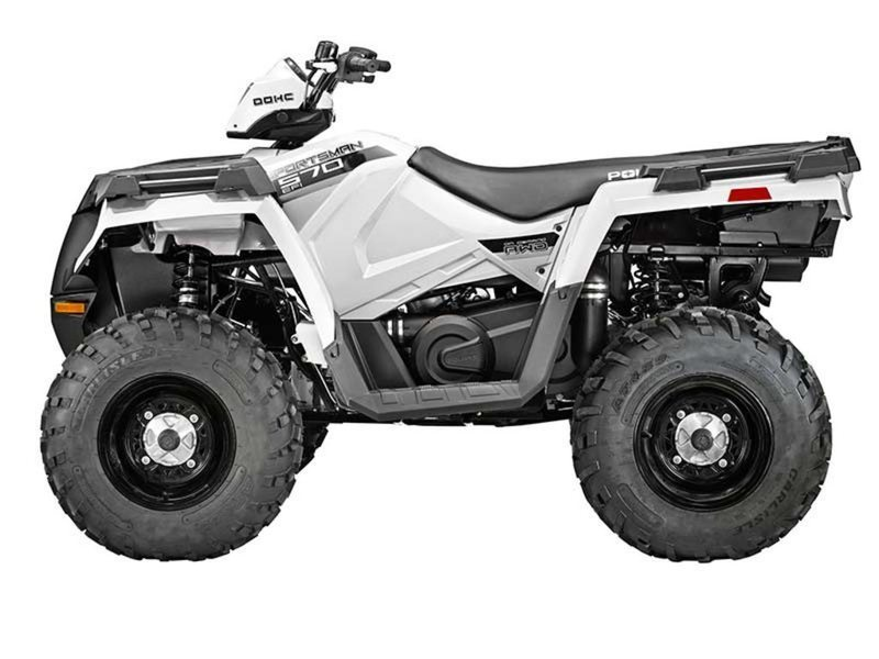 2014 Polaris Sportsman 570 EPS Bright White